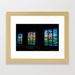 Congregational Color Framed Art Print