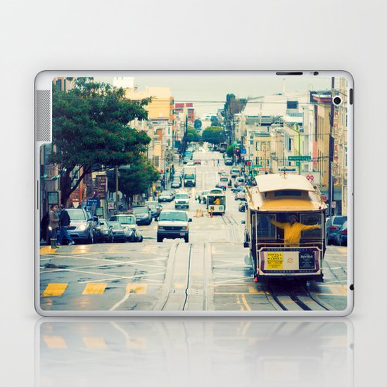 San Francisco Cable Car Laptop & iPad Skin