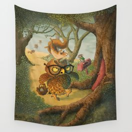Ode To Beatrix Potter Wall Tapestry