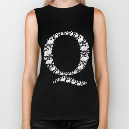 QAnon Art Follow the White Rabbit WWG1WGA Dark Biker Tank