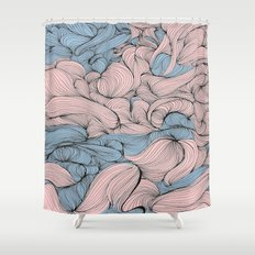 In Mixed Company Shower Curtain