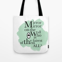 Mirror Mirror - Snow White Inspired Tote Bag