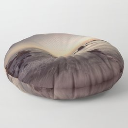 Venus Jupiter Conjunction 2008 Floor Pillow