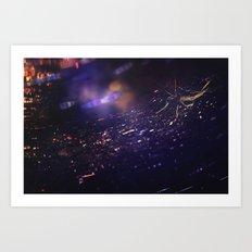 SparkleWeb Art Print