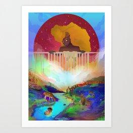 Cradle of Joy Art Print