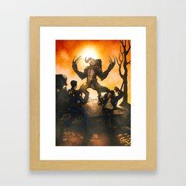 Fallout Companion: Max Rockatansky Framed Art Print