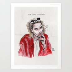 Kurt Bday Art Print