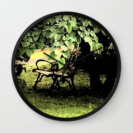 A Place to Ponder Wall Clock