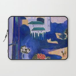 LANDSCAPE VIEWED FROM A WINDOW IN TANGIER - HENRI MATISSE Laptop Sleeve