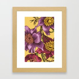 Floraldesign #005 Framed Art Print