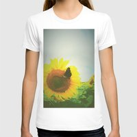 sunflower T-shirts featuring Sunflower by Falko Follert Art-FF77