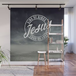 King of king, Lord of lords, Jesus Wall Mural
