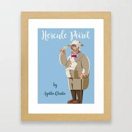 Agatha Christie's Hercule Poirot Framed Art Print