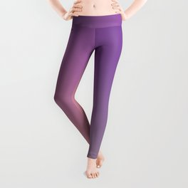 GUILTY  CONSCIENCE - Minimal Plain Soft Mood Color Blend Prints Leggings