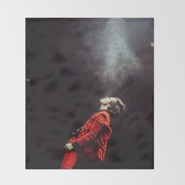 Harry on stage #1 Throw Blanket