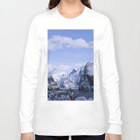 yosemite Long Sleeve T-shirts featuring Yosemite by Ian Bevington