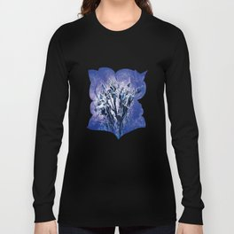 Thistle and Weeds_deep purple Long Sleeve T-shirt