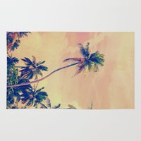 tropical Area & Throw Rugs featuring Tropical by M Studio