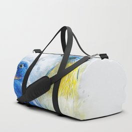 Kissing Birds Duffle Bag