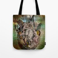 fairies Tote Bags featuring Fairies by Moon Willow