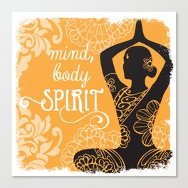Mind, Body, Spirit Canvas Print