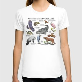 Animals of the Florida Everglades T-shirt