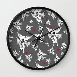 Huggy Bat Wall Clock