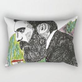 Theodor Herzl - Basel Rectangular Pillow