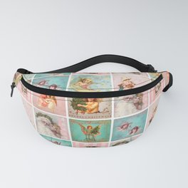 Vintage & Shabby Chic - Merry Christmas Mosaic Fanny Pack