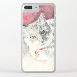 Pringles' Pose Clear iPhone Case