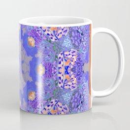 Multi Colored Butterfly Wing Mondala Coffee Mug