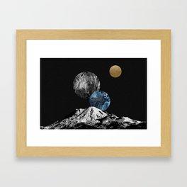 Space II Framed Art Print