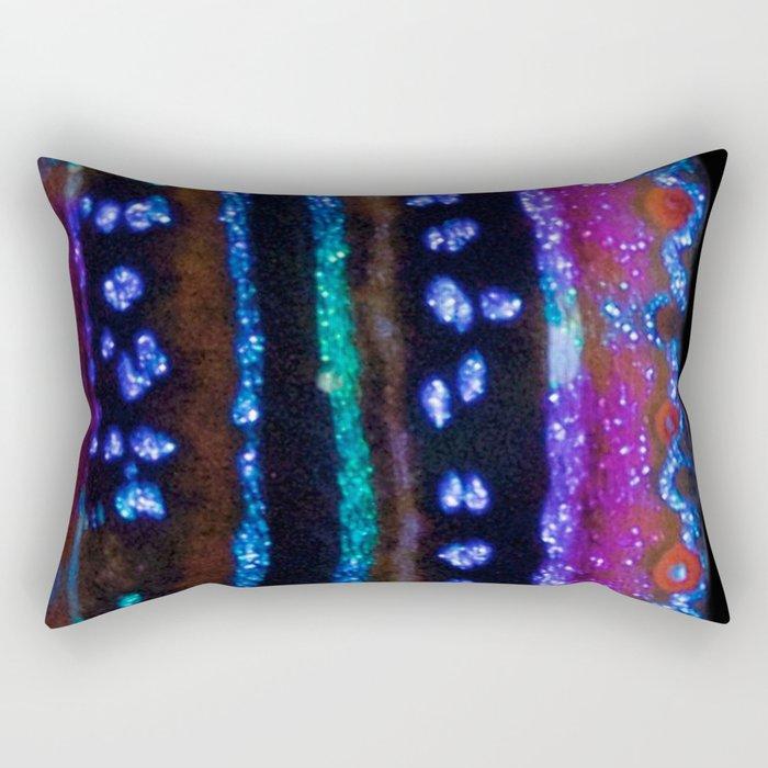 Glitter clam texture Rectangular Pillow