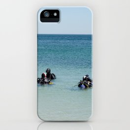 Diving academy iPhone Case