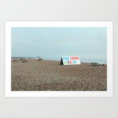 Beaches of Brighton Art Print