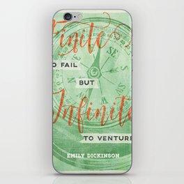 Infinite—to venture iPhone Skin