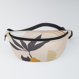 Love by the rainbow  - Cat duo with Nature Fanny Pack