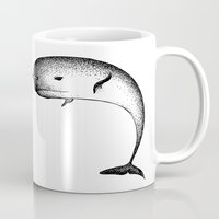 narwhal Mugs featuring Narwhal by Nicole Cioffe