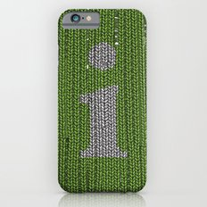 Winter clothes II. Letter i. iPhone 6s Slim Case