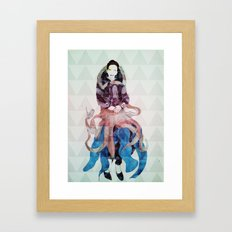 Mertha Framed Art Print