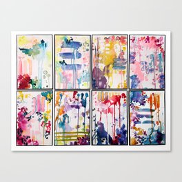 Kinetic Stains Canvas Print