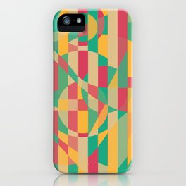 Abstract Graphic Art - Contemporary Music iPhone Case