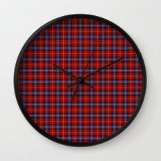 Aberdeen University Tartan Wall Clock