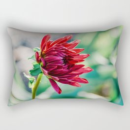 Flor Floreciendo. Rectangular Pillow