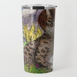 Bobcat Ross Travel Mug