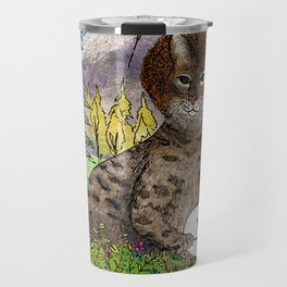 Bobcat Ross Travel Mug