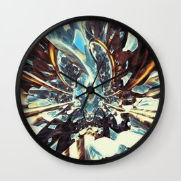 Fractal Art - Cocoon in Space Wall Clock