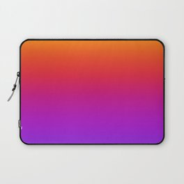 Colorful Gradient Pattern Neon Abstract Rainbow Laptop Sleeve