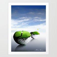 The 7th Hole Art Print