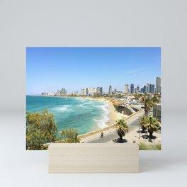 Tel Aviv from Jaffa Port, Israel Mini Art Print